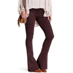Free People High Rise Flared Sweater Leggings